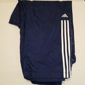 Adidas Tear Away Track Pants Vintage Size XL